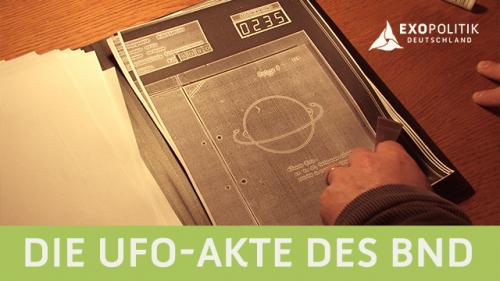 Die UFO-Akte des BND