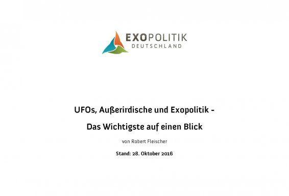 Exopolitik Briefing Oktober 2016